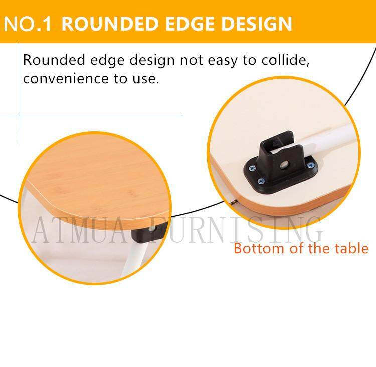 Atmua Foldable Table Anti-slip Bed Laptop Table Notebook Table Portable Computer Desk Table on Bed