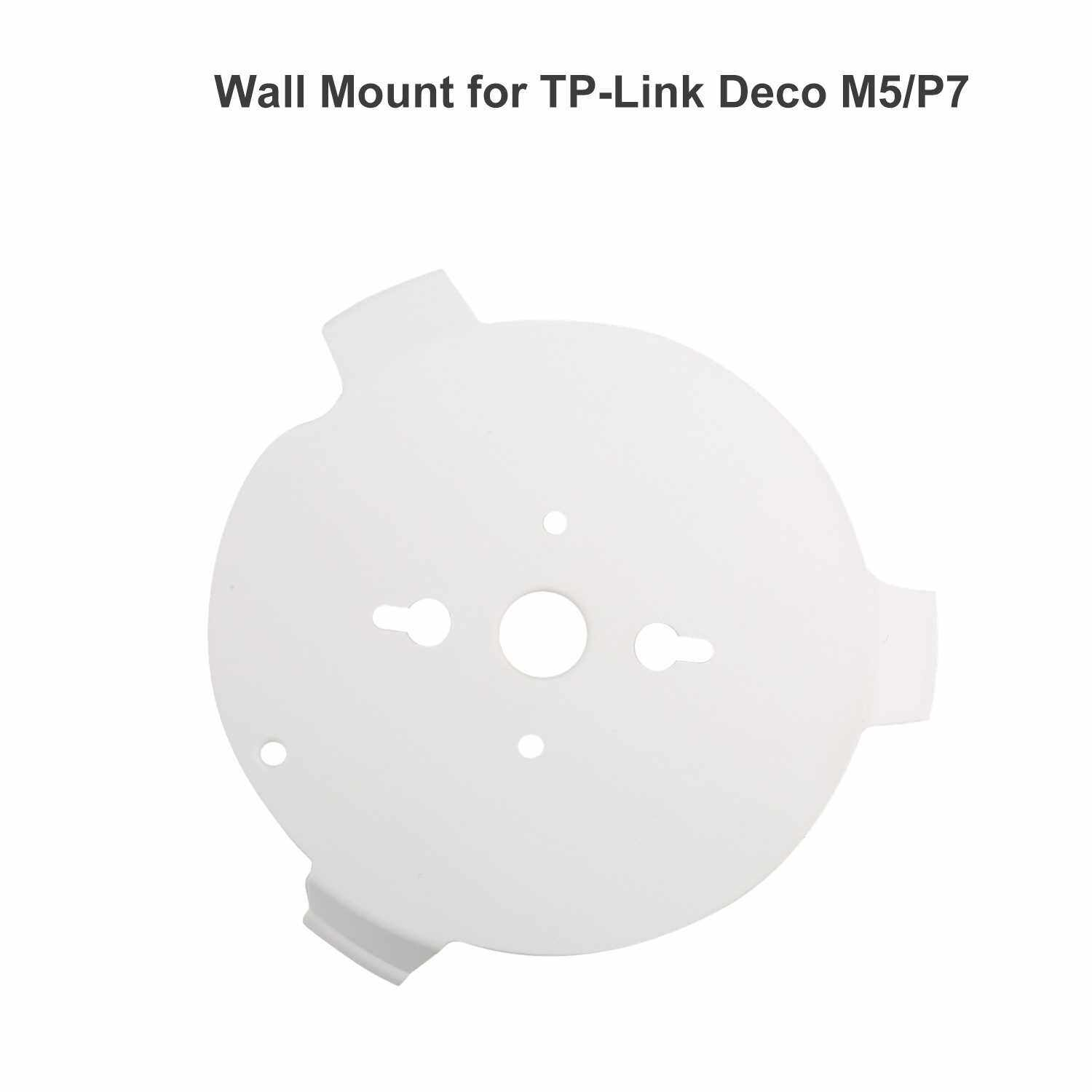 Wall Mount for TP-Link Deco M5/P7 Whole Home Mesh WiFi System, Sturdy Bracket Holder for Deco M5 Router/P7 Space Saving TP-Link Router Wall Holder, White, 2 Pack (White)