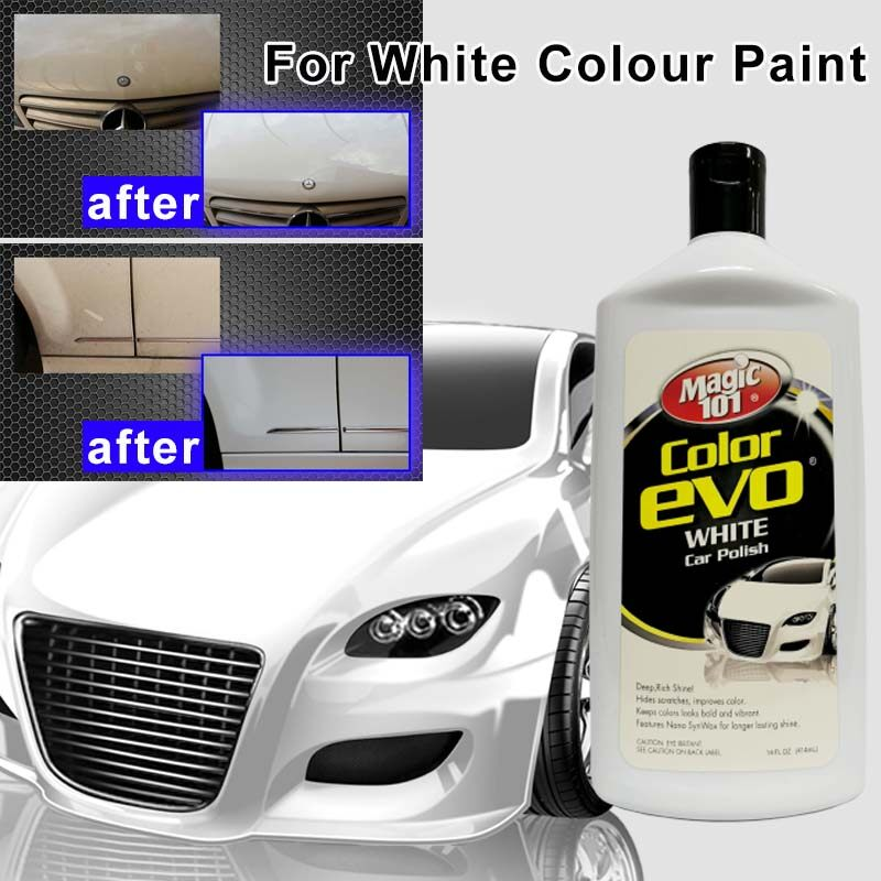 Magic101 Color Evo Car Polish 414ml - For White Paint