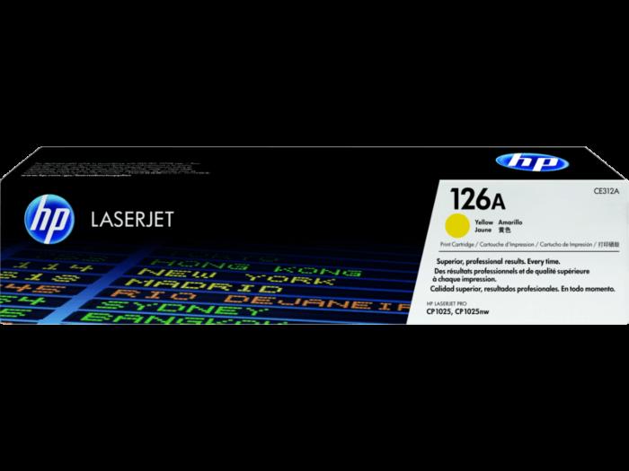 HP 126A Magenta / Yellow / Cyan / Black Original LaserJet Toner Cartridge