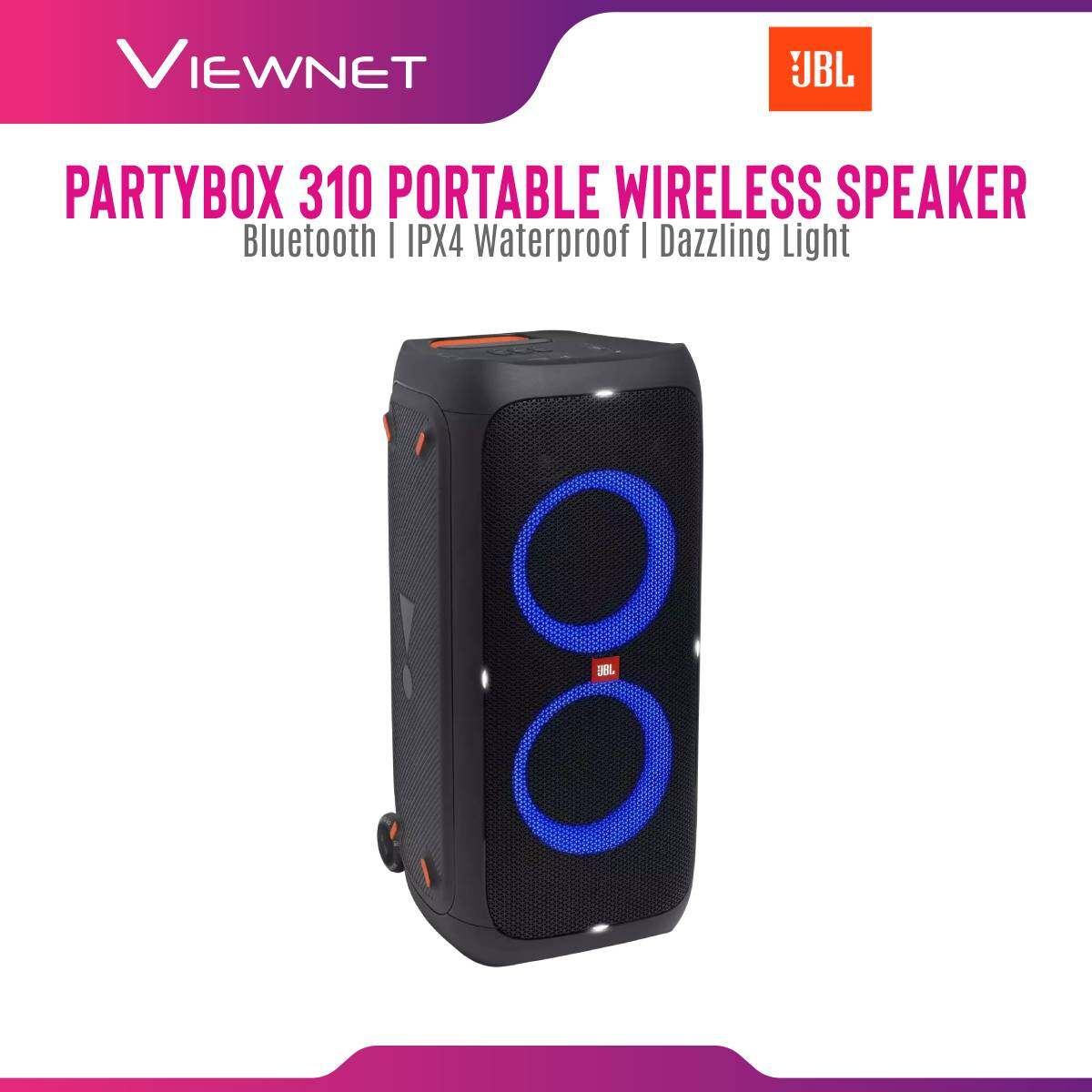 JBL Partybox 310 AS Portable Speaker with Dazzling Light , Blurtooth , Easy To Carry