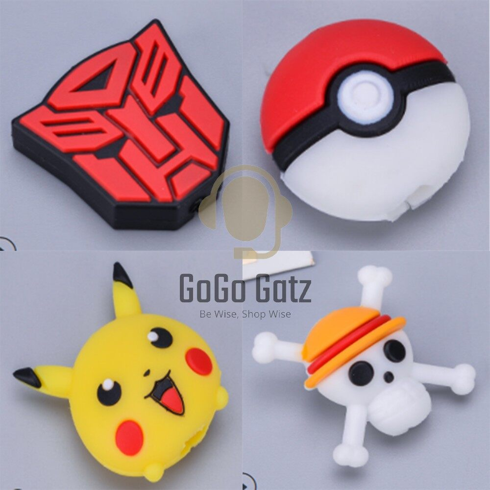 {Ship Out Within 24 Hours} Cable Cover *Anime - Iphone, Huawei, Samsung, Oppo, Vivo, Xiaomi