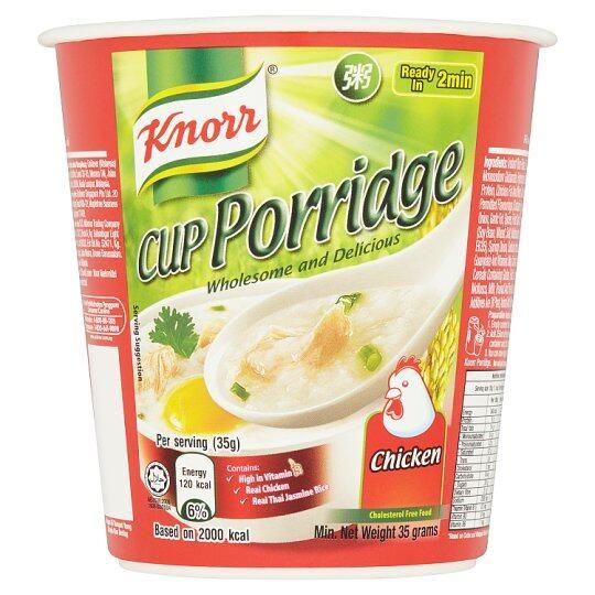 KNORR CUP PORRIDGE CHICKEN 35G