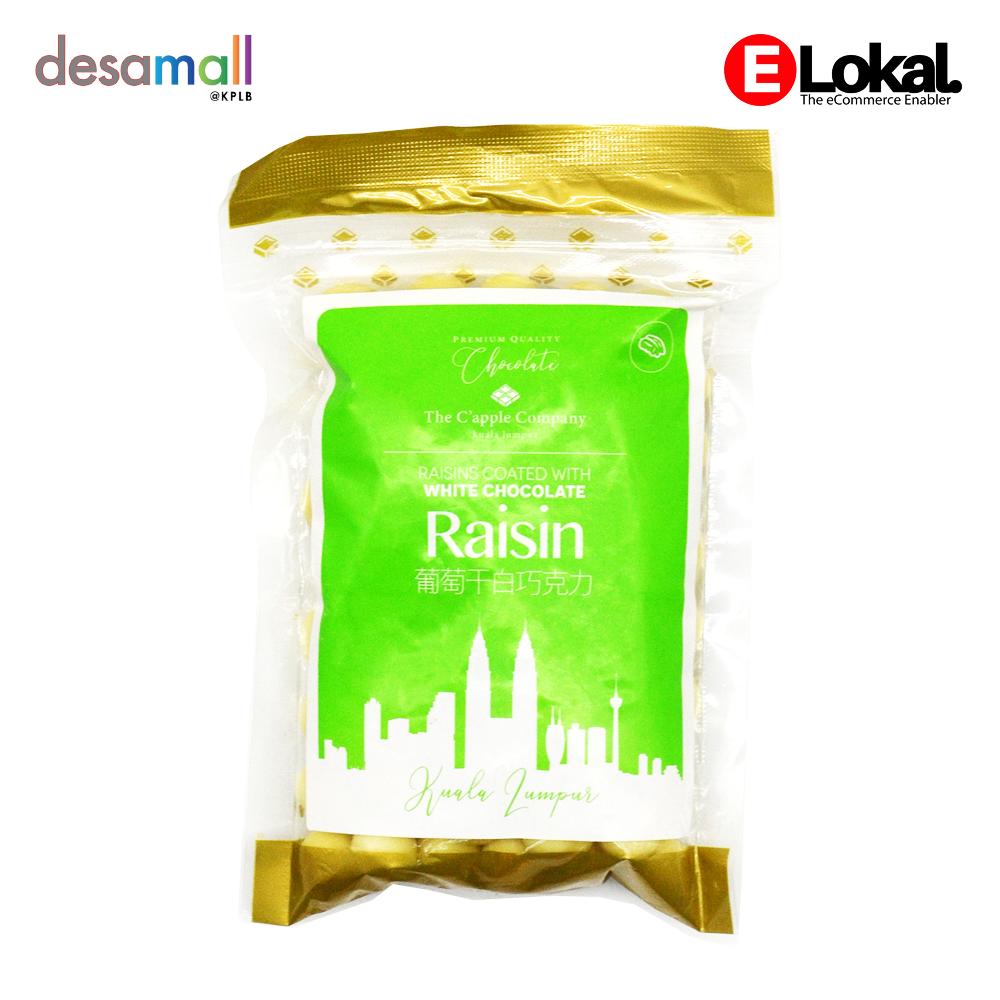 C\'APPLE White Chocolate - Raisin (250g)