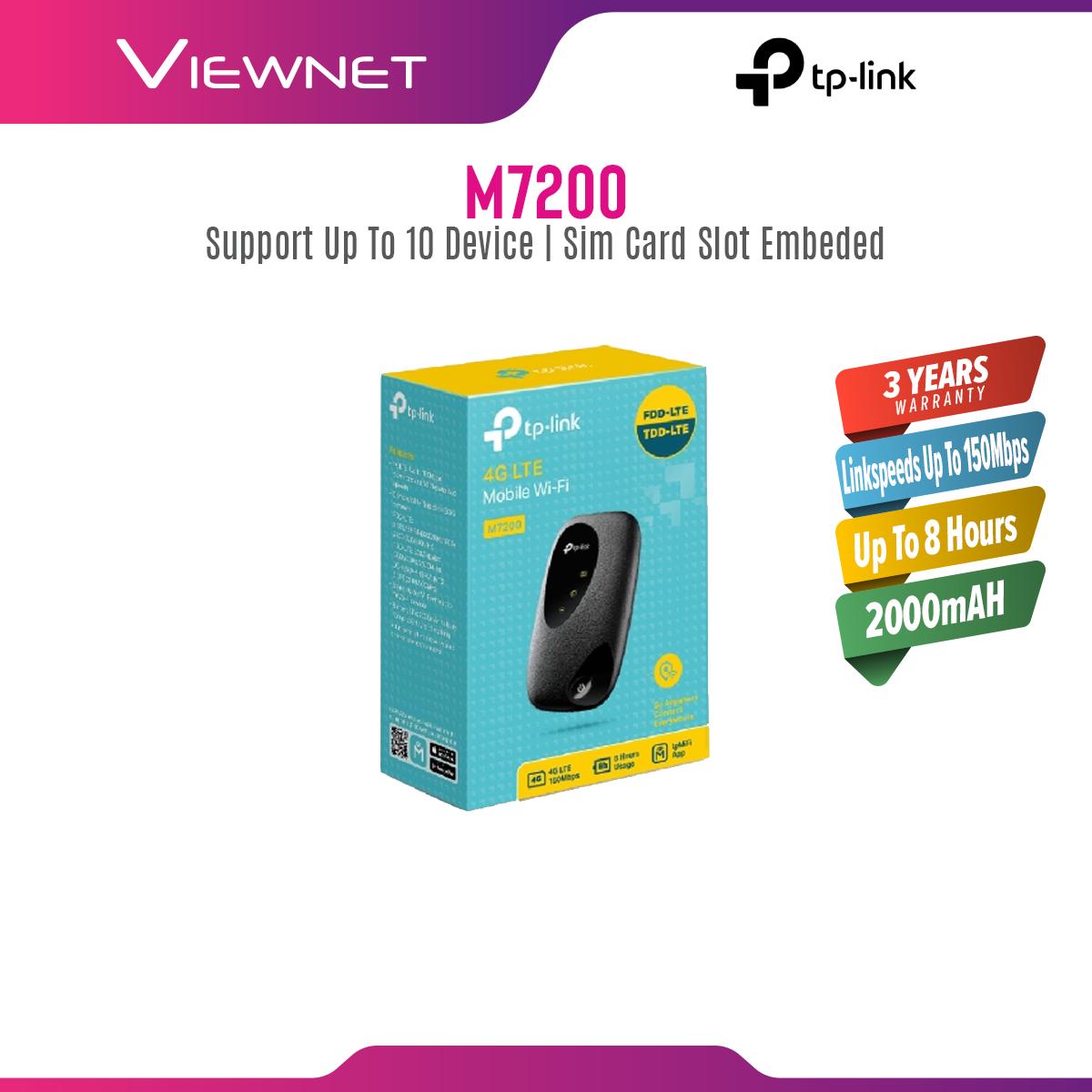 Tp-Link M7200 4G LTE Router
