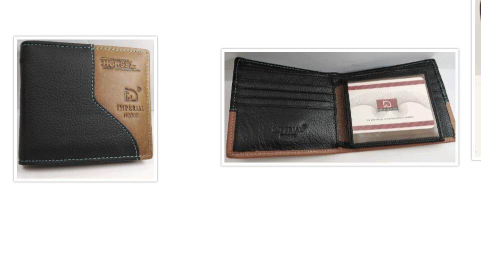 Imperial Horse Wallet (Fresh Import) New Arrival