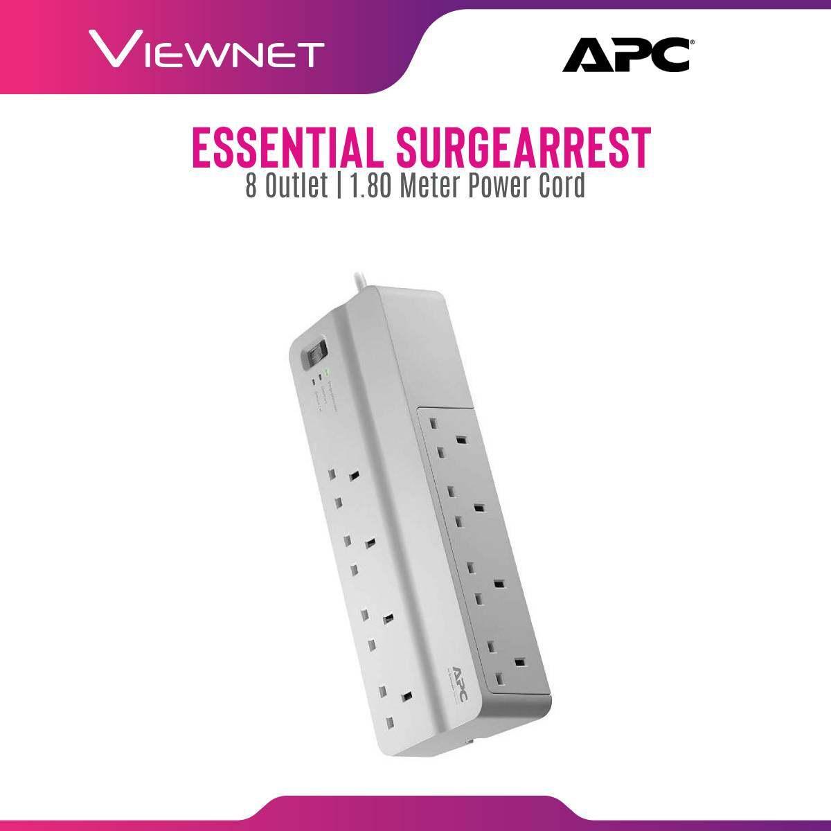 APC Essential SurgeArrest 8 outlets, 230V UK PM8-UK