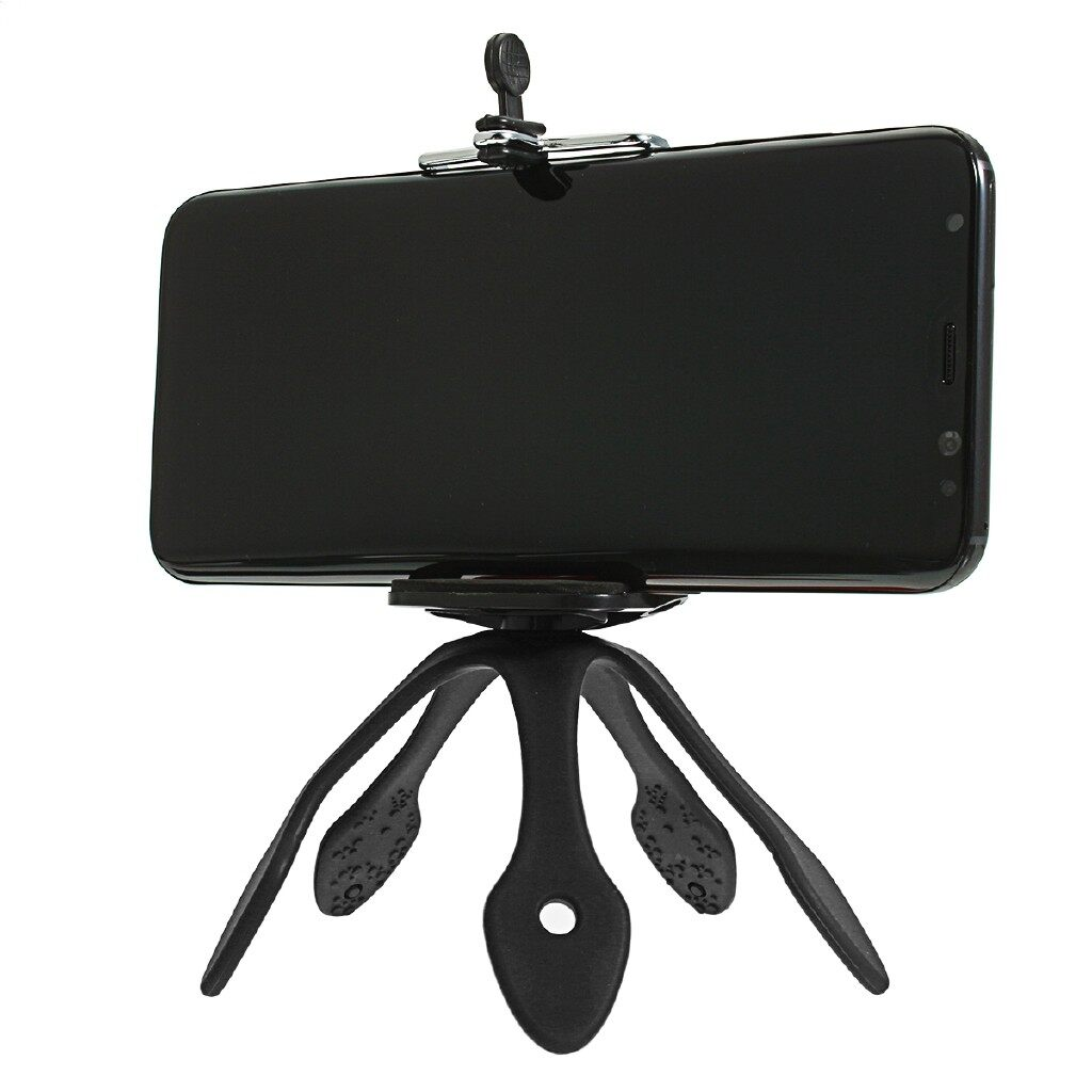 Phone Holder & Stand - Gekkopod Flexible Stand/Holder MINI Tripod Mount PORTABLE - GREY / PINK / RED / BLUE / BLACK / ORANGE / GREEN / PURPLE