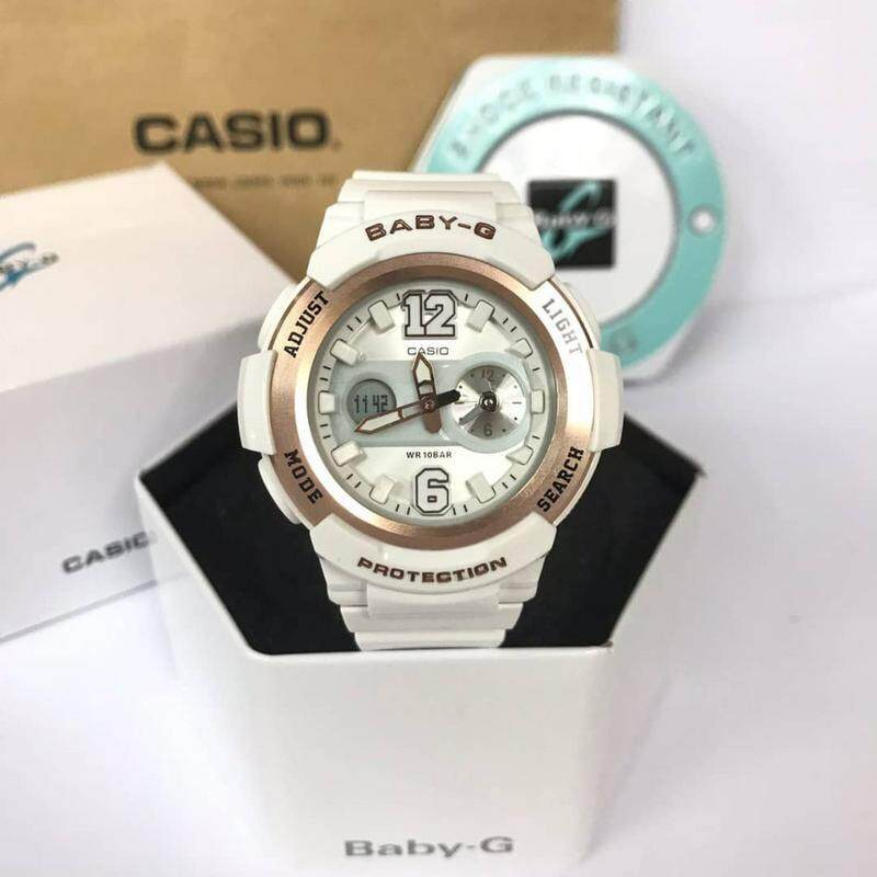 (Ready Stock) Original Casio Baby G_G-BGA210 Men Sport Watch Duo W/Time 200M Water Resistant Shockproof and Waterproof World Time LED Auto Light Wist Sports Watches with 4 months Warranty BGA210 /BGA-210