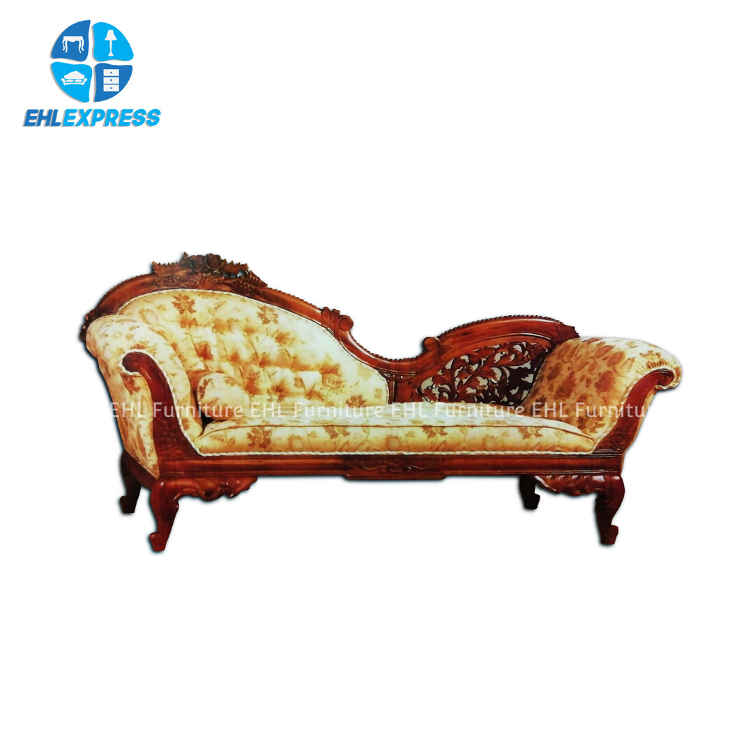 EHL EXPRESS JATI / TEAK WOOD WT53 Cleopatra sofa  - FREE INSTALLATION / DELIVERY TO PENINSULAR