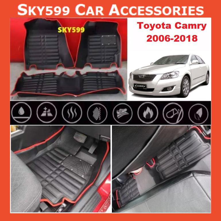 Toyota Camry 2006-2018 5D Car Floor Mat/Carpet