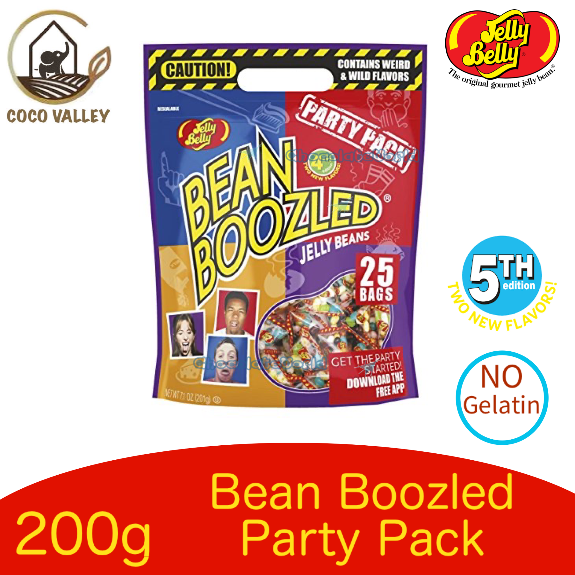 Jelly Belly Bean Boozled Party Pack 200g