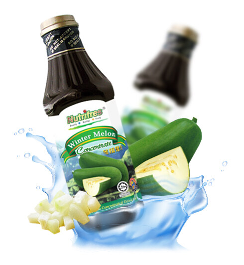 NutriFres Winter Melon Concentrate / Cordial 1L