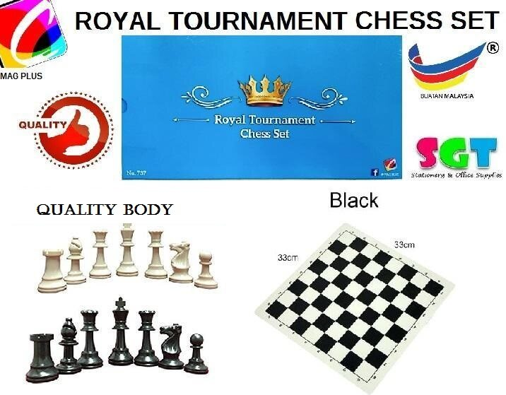 Royal Tournament Chess set (No.737)