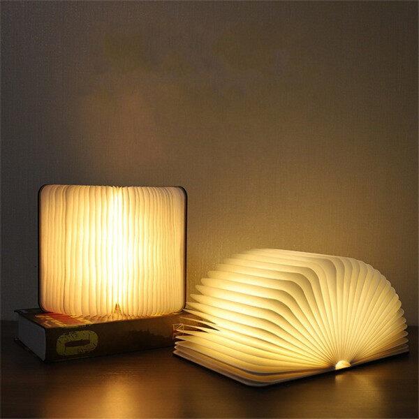 Bảng giá 【Trang Trí】đèn Ngủ Hình Sách Bằng Gỗ 5 Màu Sáng Tạo Đèn Đọc Sách Đổi Màu Có Thể Sạc Lại USB RGB Đèn Cạnh Giường Chống Nước Xoay Được, Quà Tặng Trang Trí Bàn Nổi Bật Ins Máy Tính Xách Tay Ánh Sáng
