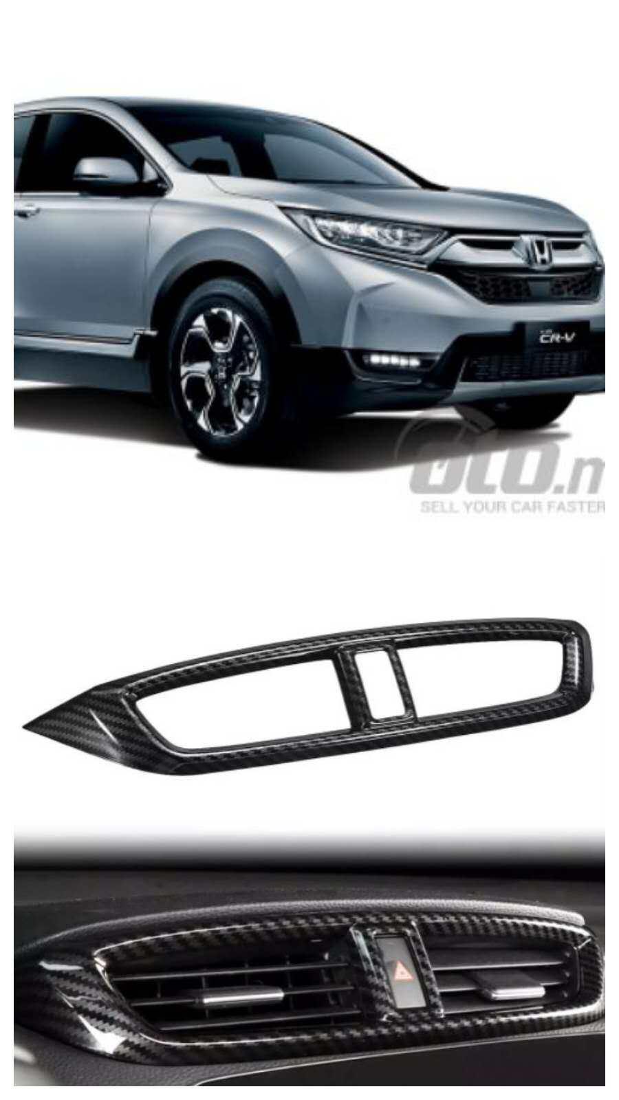Honda CRV 2017 - 2019 Aircon Vent Cover (Malaysia Version)