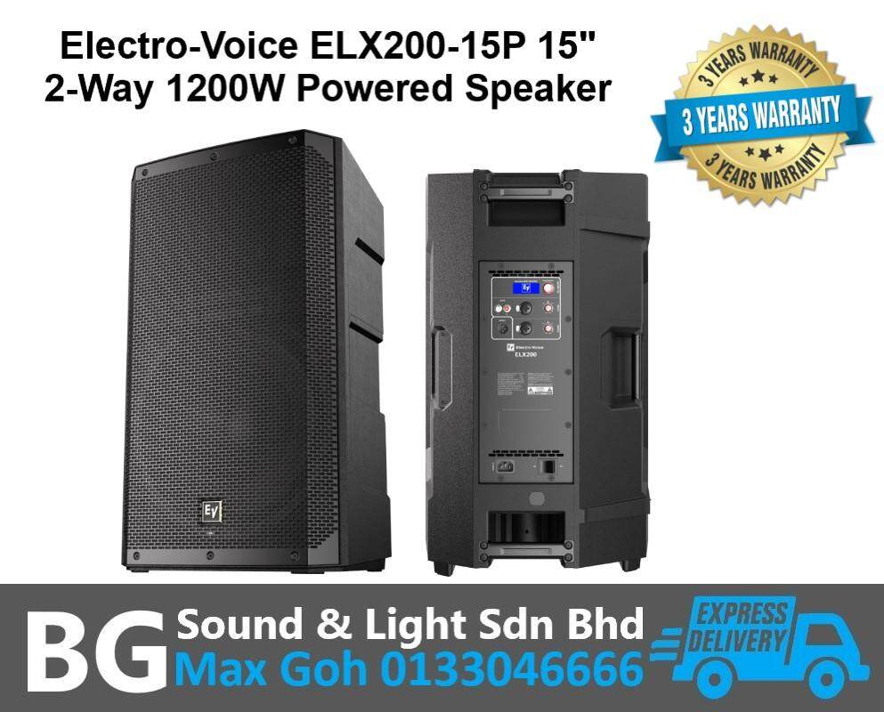 "Electro-Voice ELX200-15P 15"" 2-Way 1200W Powered Speaker"