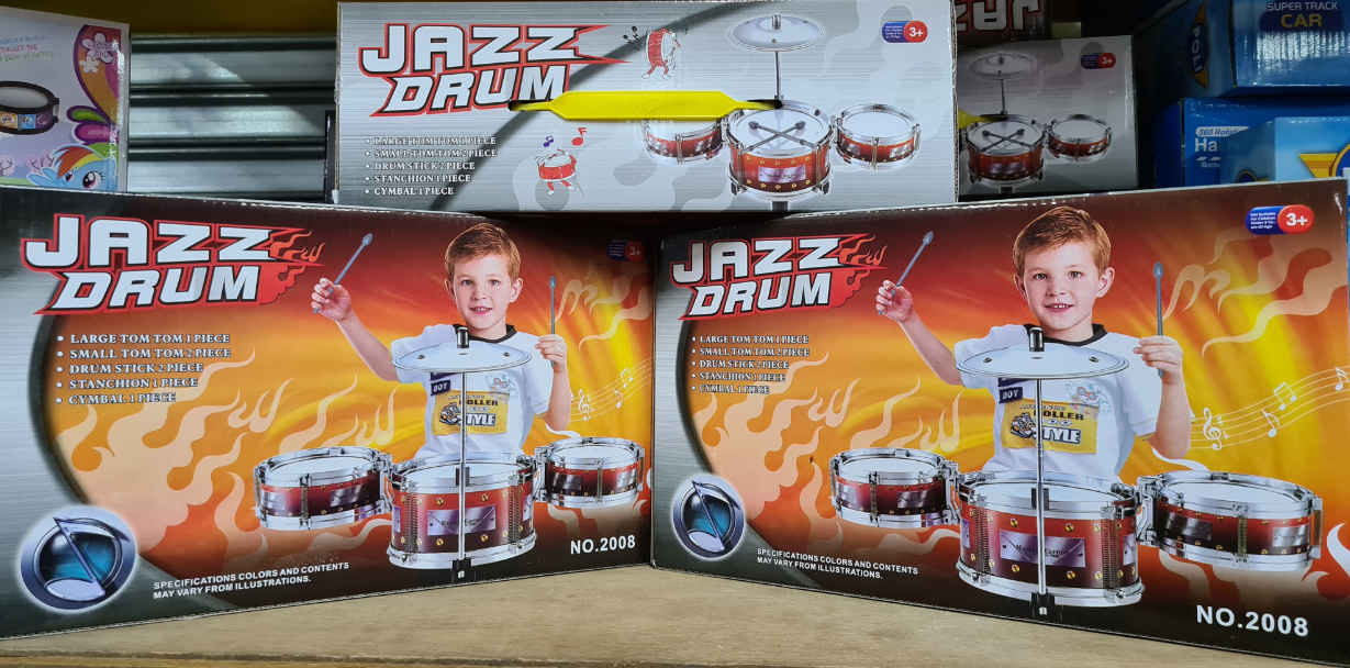 Jazz Drum for Kids Musical Instrument