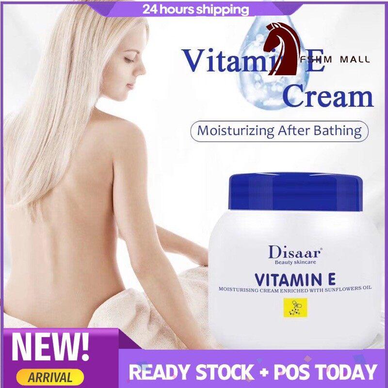 {Ready Stock} Disaar vitamin E Cream Soften Whitening Moisturizing Skincare