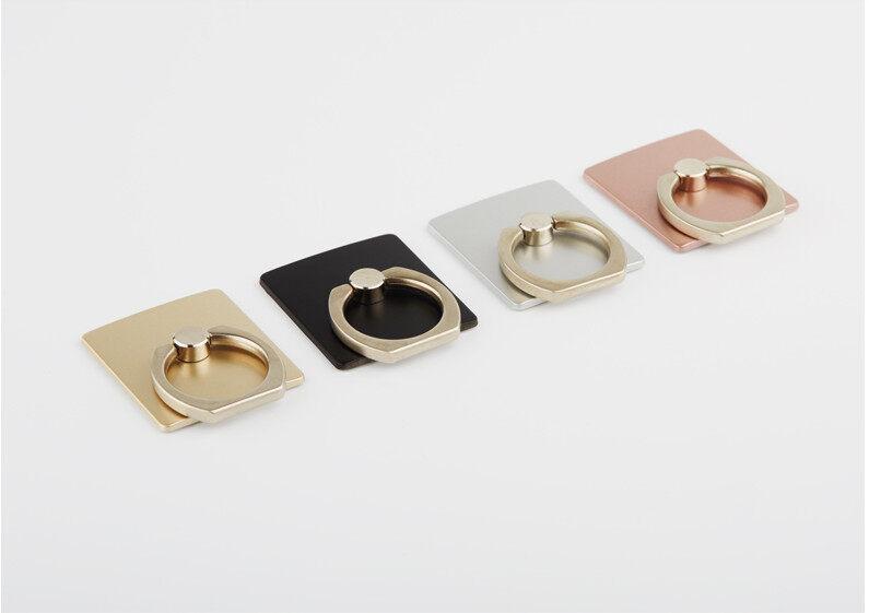 Portable Universal Metal Finger Ring Phone Holder 360 Rotating Bracket for iPhone Samsung
