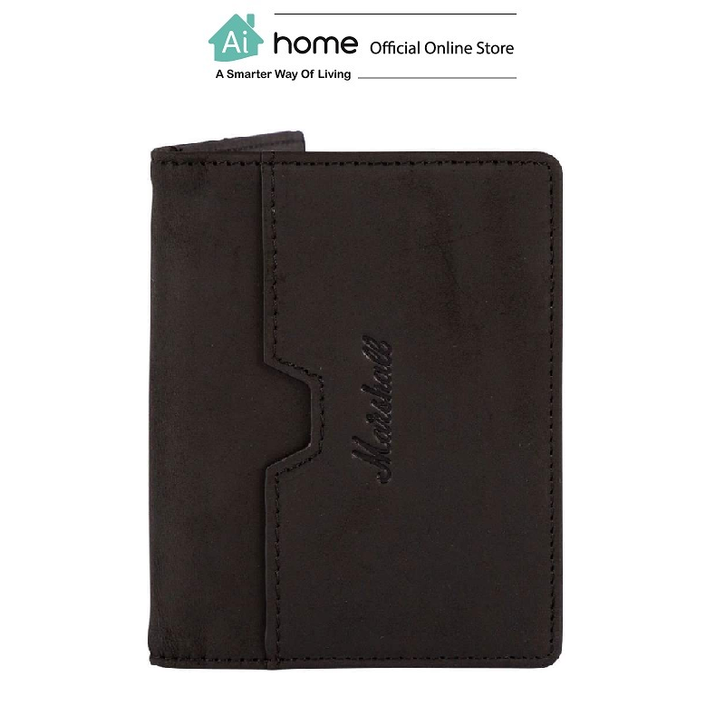 MARSHALL Suedehead Wallet (Black) [ Ai Home ] MSWB