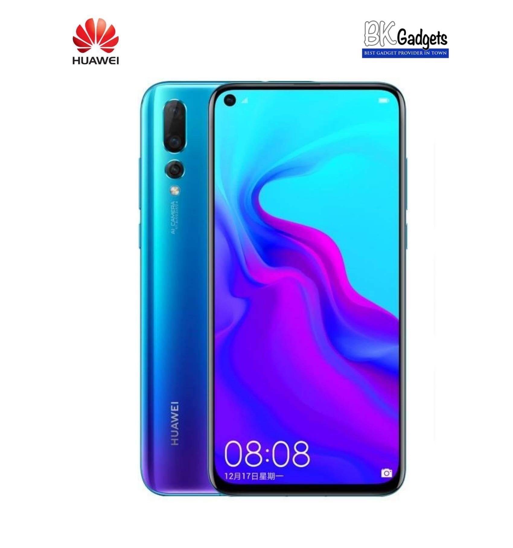 Huawei Nova 4 8/128GB Blue – Original from Huawei Malaysia 1 Year Warranty