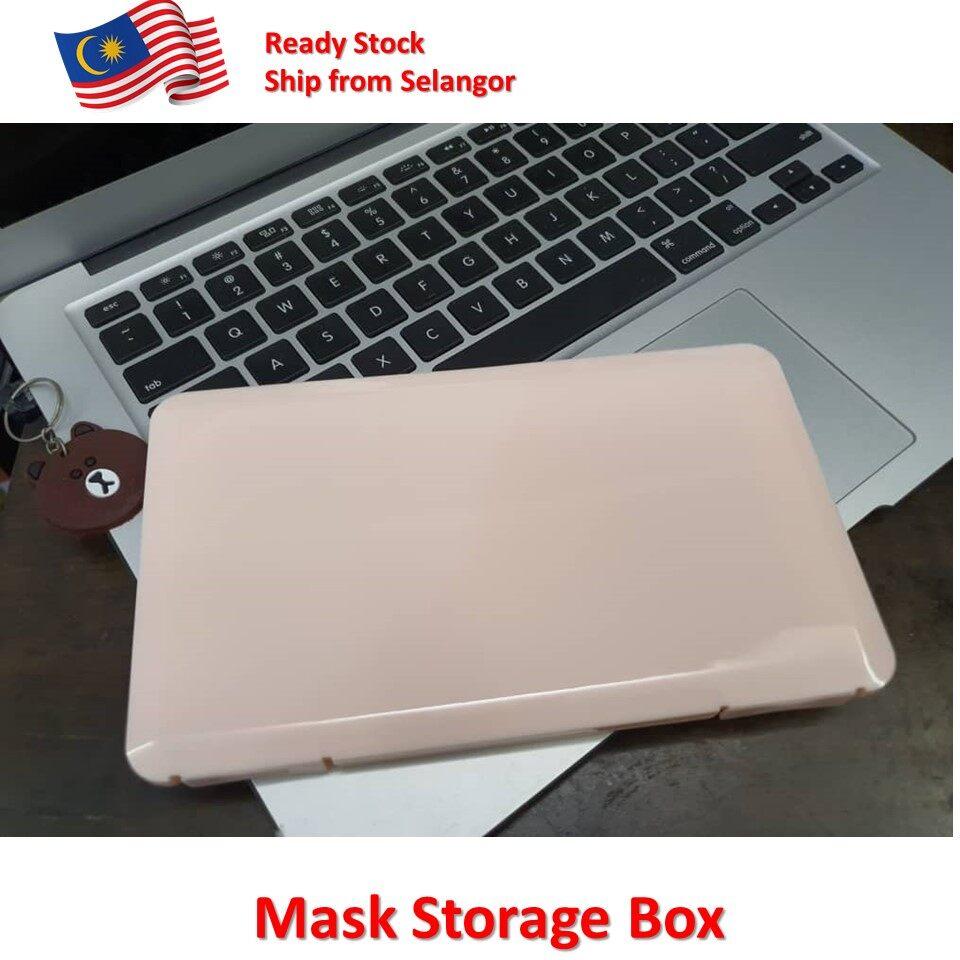 Peach Mask Storage Box Mask Keeper Foldable Mask Storage Face Masks Organizer Container Case Mask Folding Storage Holder Japanese Design