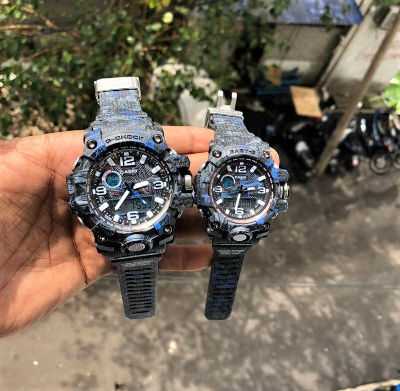 Sports Addition CASIO_G_SHOCK_Couple Set Watches For Man And Women