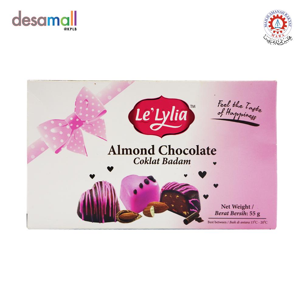 LE\'LYLIA Almond Chocolate (55g)