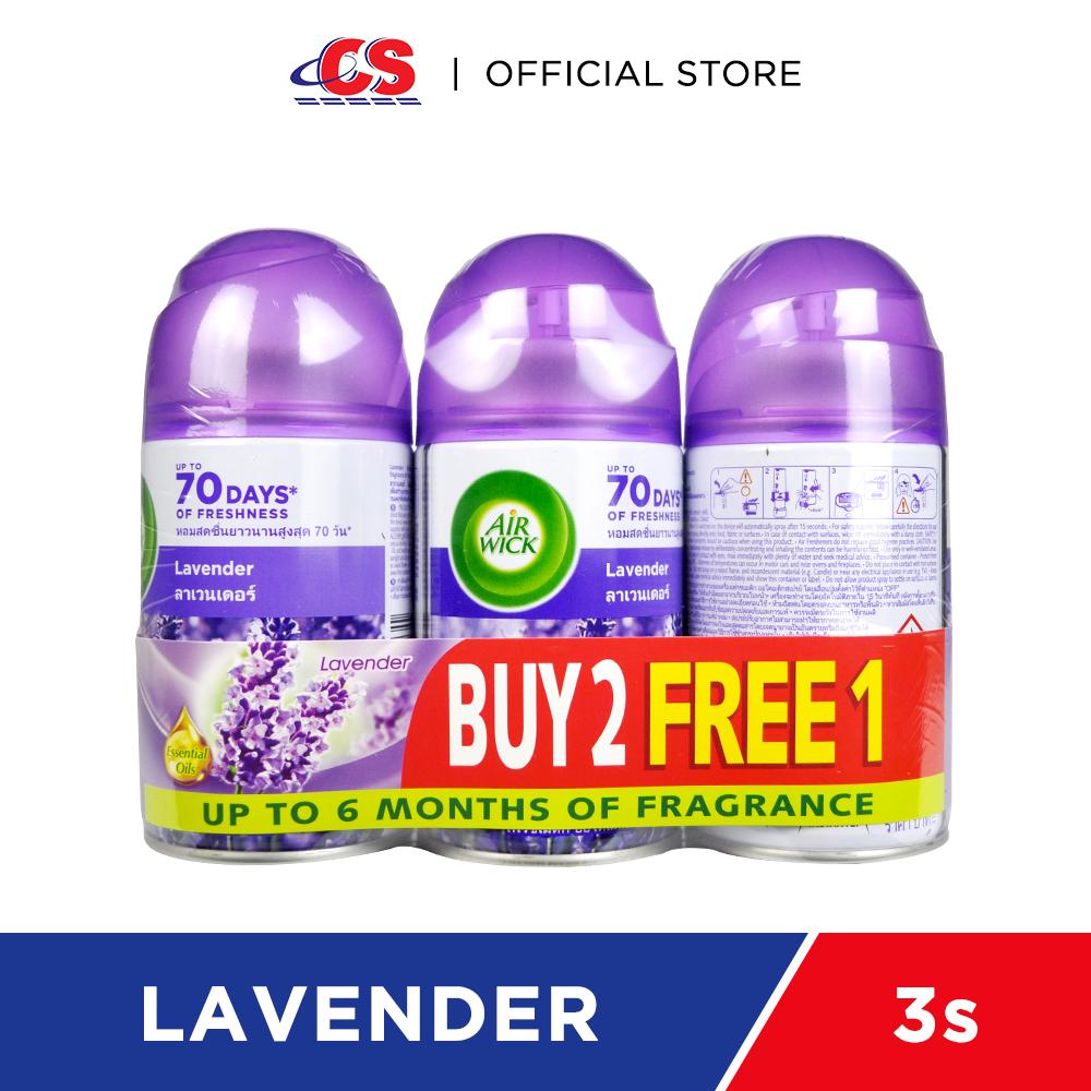 AIR WICK Air Freshener Lavender 3x250ml