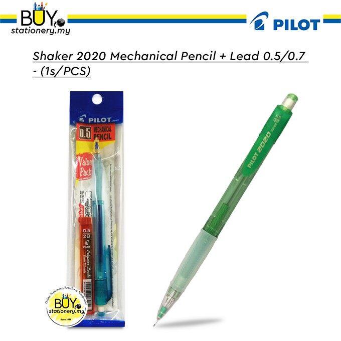Shaker 2020 Mechanical Pencil + Lead 0.5/0.7 (1s/PCS)