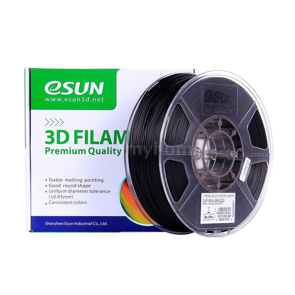 Printers & Projectors - ePA-CF 1.75mm Carbon Fiber Filled Filament 1KG (2.2lb) Spool Consumables Natural Material - #