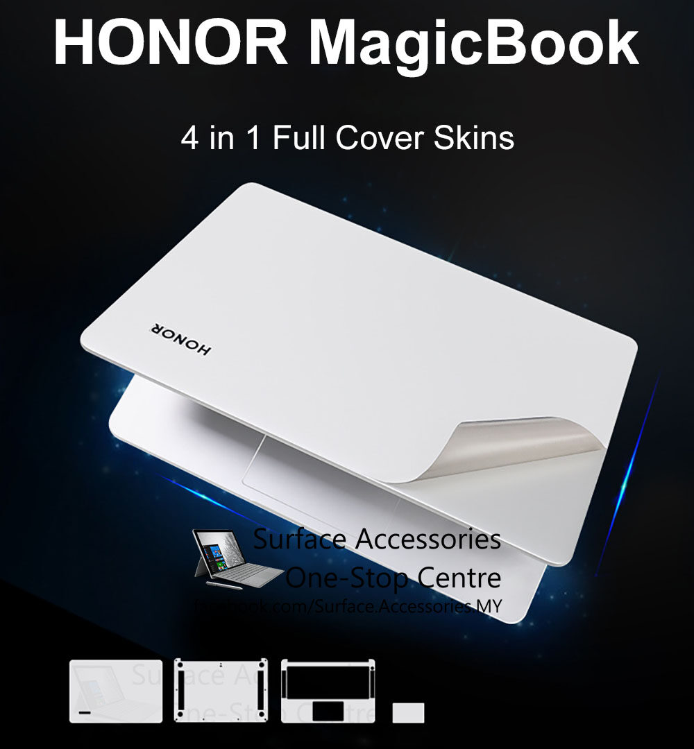 [MALAYSIA]HONOR MagicBook Skin Cover HONOR MagicBook 14 Skin Case HUAWEI HONOR MagicBook 14 Vinyl Wrap HONOR MagicBook Decal HONOR MagicBook Wrap