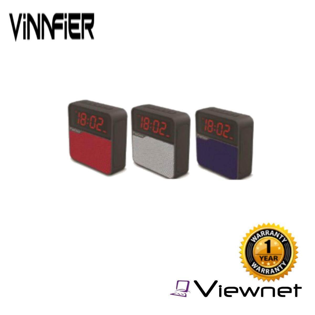 Vinnfier Flipgear Tango Neo 7 Bluetooth Alarm Clock Speaker (Black/Blue/Red/Grey)