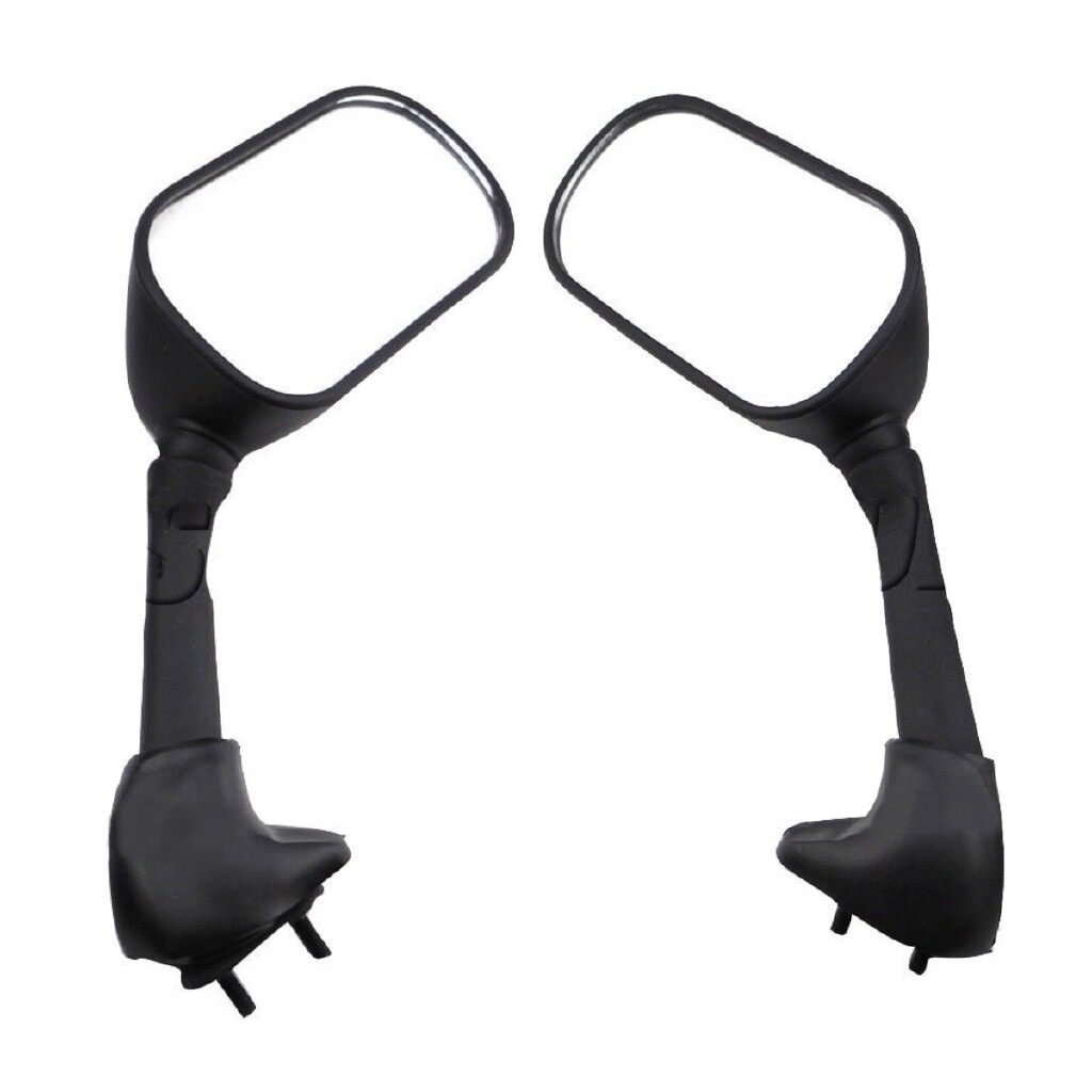 Moto Accessories - 2x Black Motorcycle Rear View Side Mirror for Yamaha YZF R1 03-05 R6 R6S 06-09 - Motorcycles, Parts