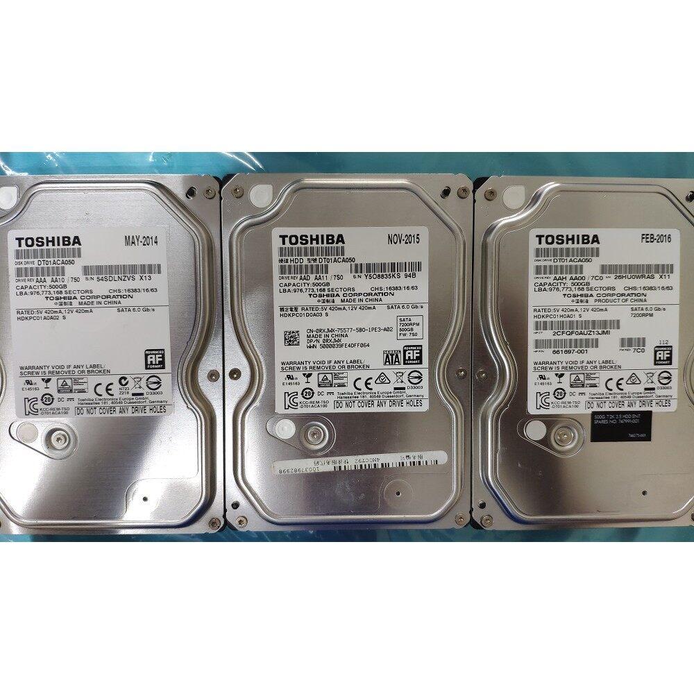 Toshiba DT01ACA050 500GB SATA3 7200RPM Hard Drive(REFURBISHED)