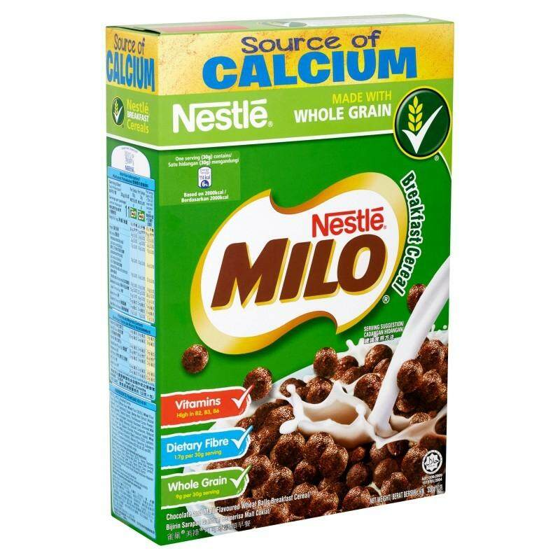 NESTLE MILO BREAKFAST CEREAL  330G READY STOCK