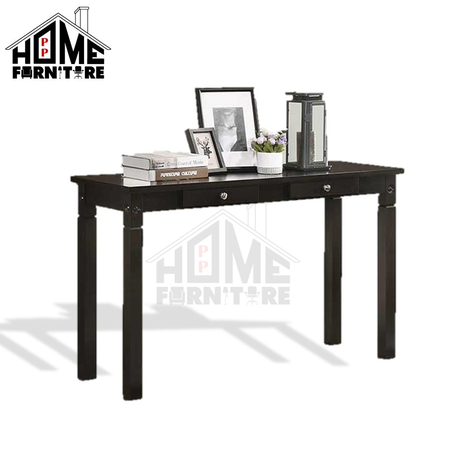 PP HOME Solid Wood Console table modern/Display table /Deco table/Multipurpose table/Wall table/ Corner table/ Living room table/Meja konsol/Meja hiasan 实木摆设桌子/装饰桌子00015-DO