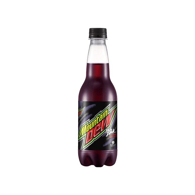 MOUNTAIN DEW PITCH BLACK 400ML