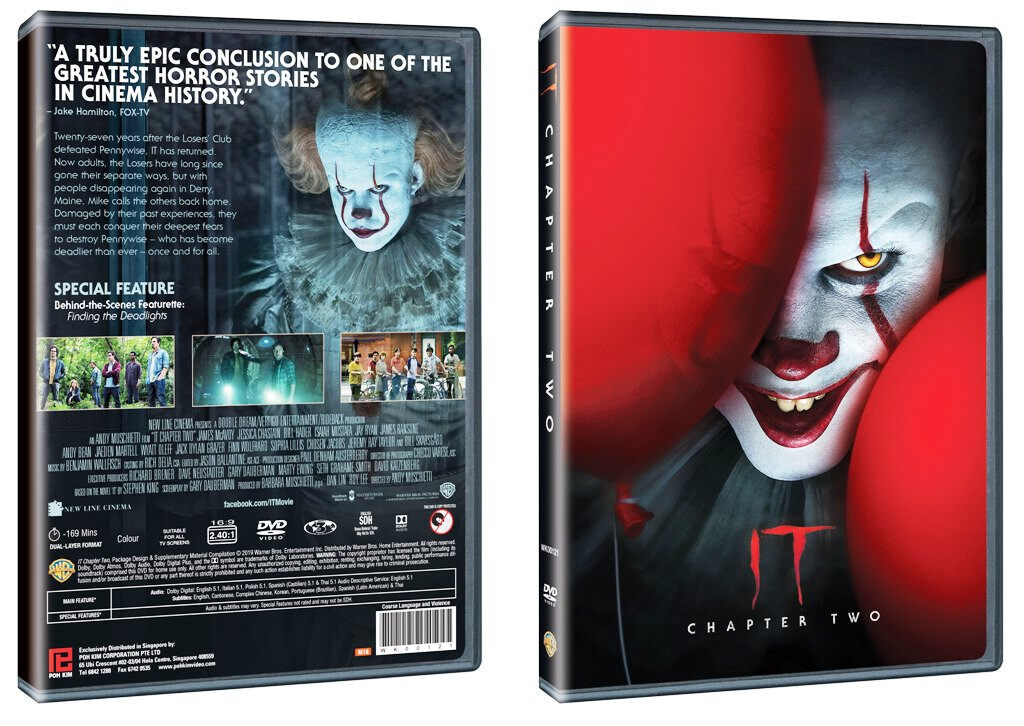 English Movie IT Chapter 2 DVD