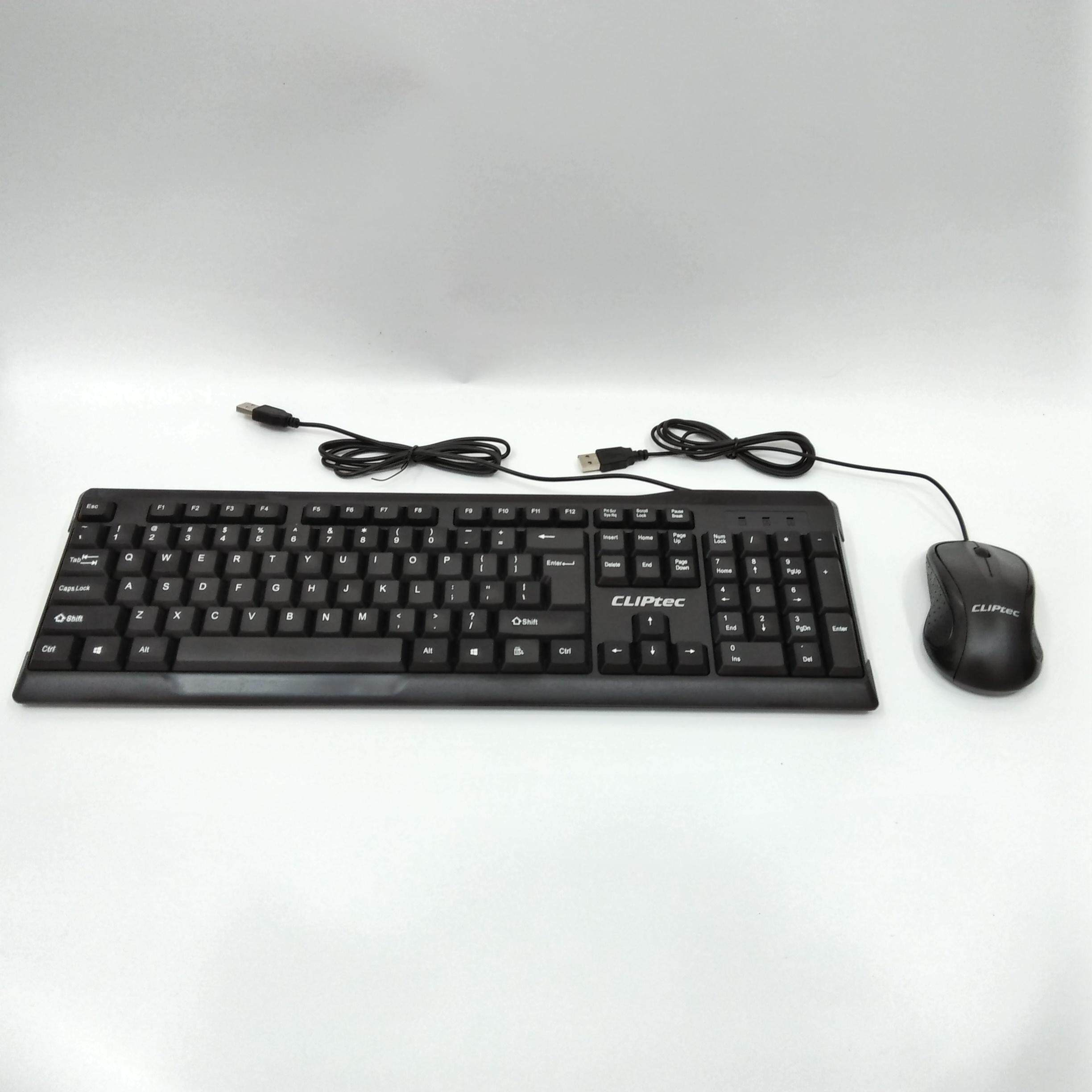 CLiPtec OFIZ-COMBO USB Keyboard and Mouse Combo Set RZK261