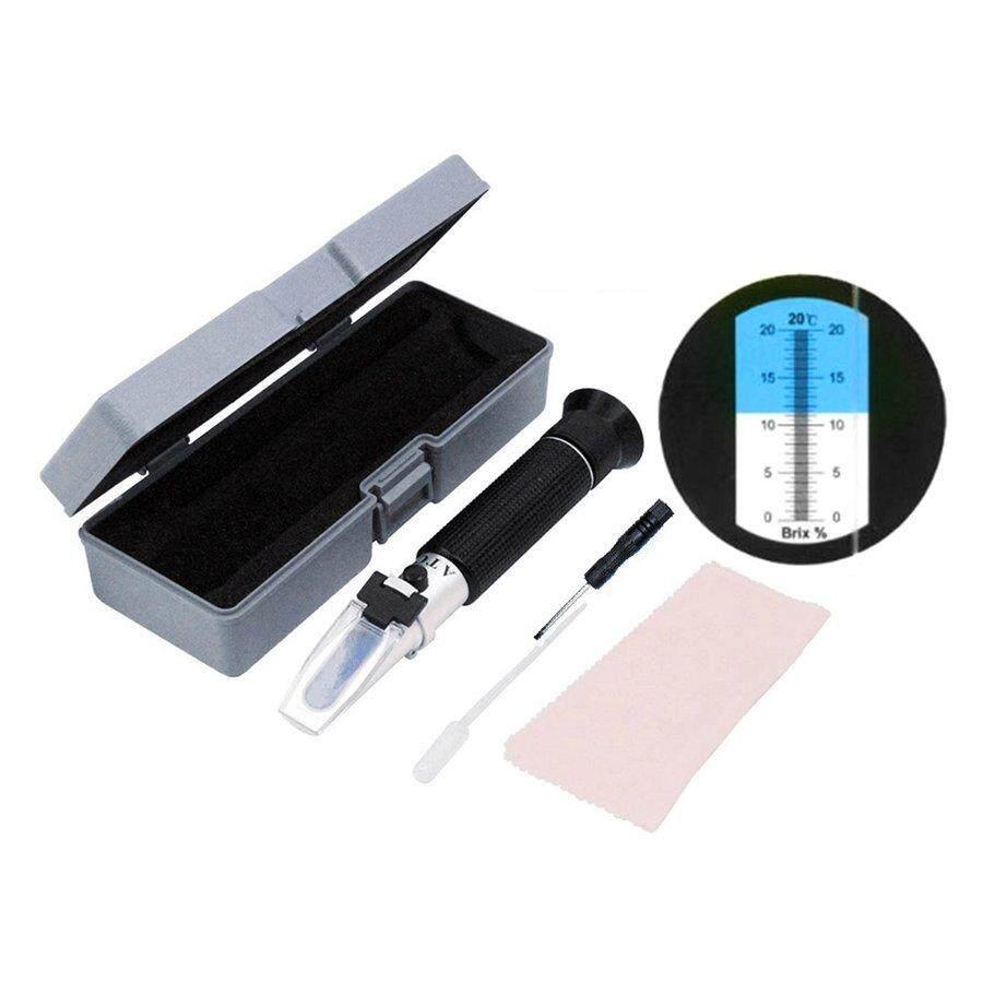 DIY Tools - &x0-20% Handheld Fruit Sugar Brix Refractometer Sweetness Saccharimeter Meters - Home Improvement