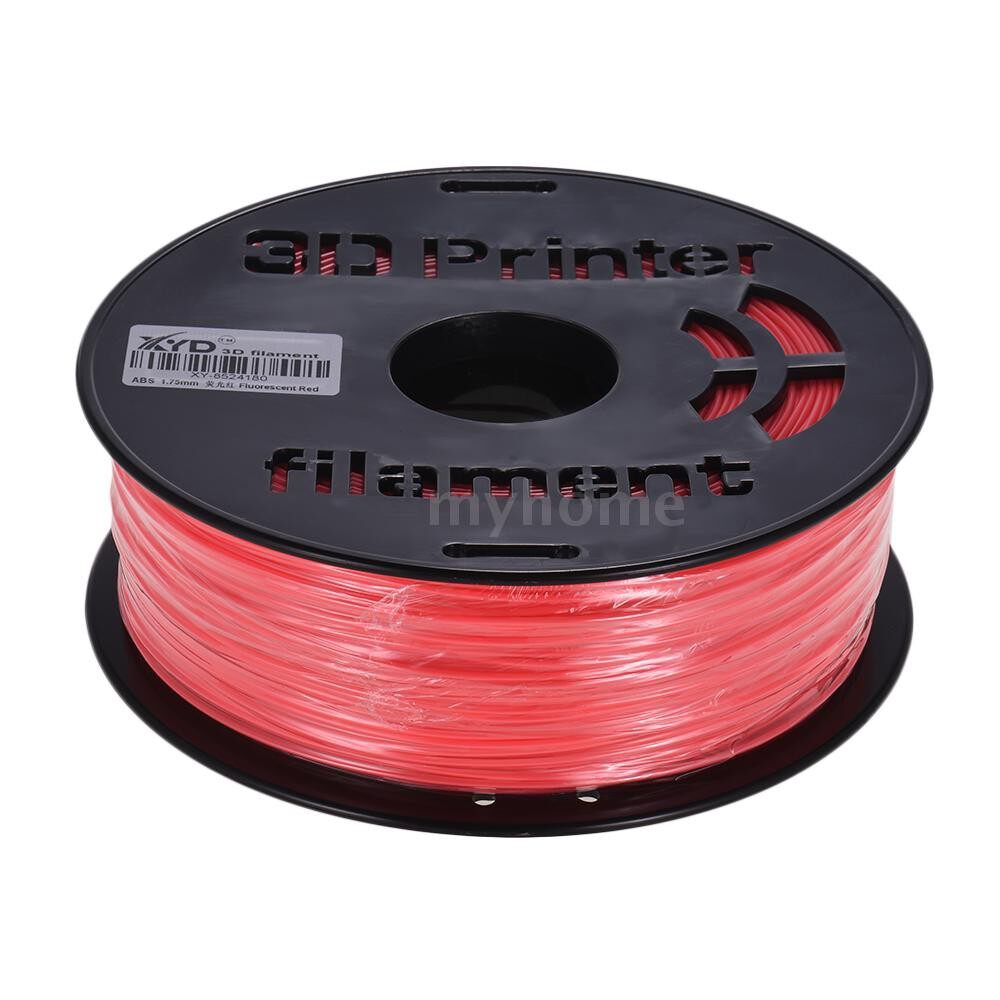Printers & Projectors - 1KG/ Spool Colorful ABS Filament 1.75mm Diameter Iridescent Color Printing Filaments for 3D - YELLOW / RED
