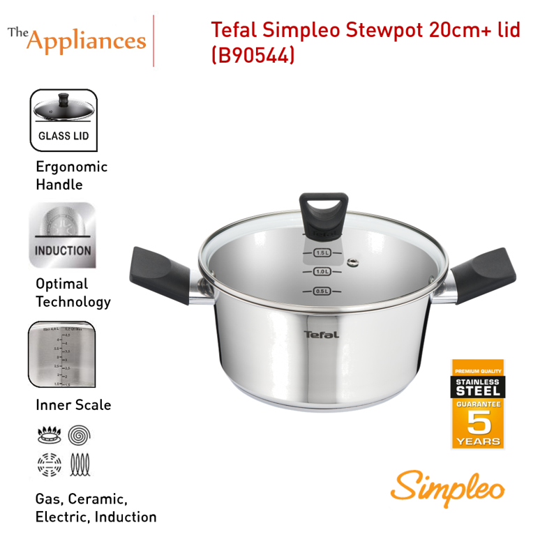 Tefal Simpleo Stewpot with Lid (20cm)