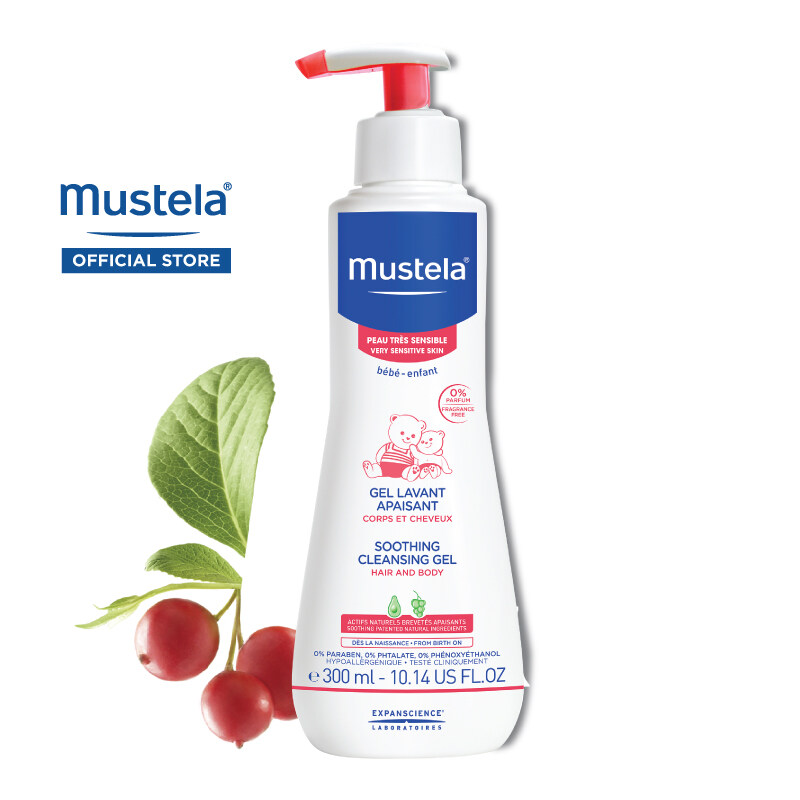 MUSTELA Soothing Cleansing Gel for Very Sensitive Skin (300ml)