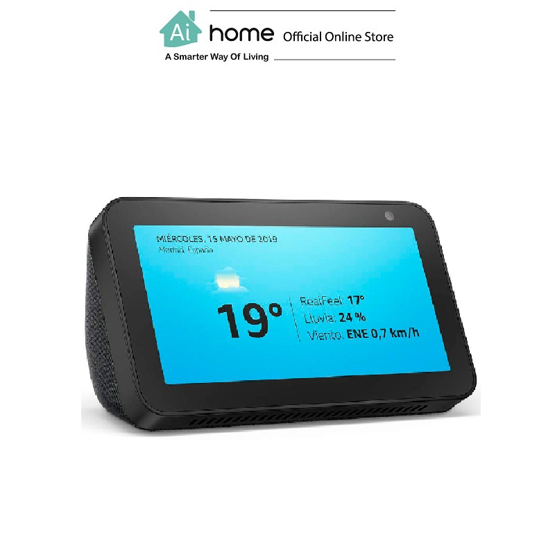 AMAZON Echo Show 5 [ Smart Speaker ] Build in Alex Assistant with Touch Screen with 1 Year Malaysia Warranty [ Ai Home ] AS5B