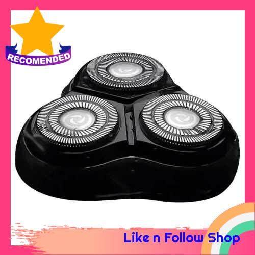 Enchen Black Stone 3D Electric Shaving Head Shaver Replacement Head Blocking Protection Razor (Black) (Black)