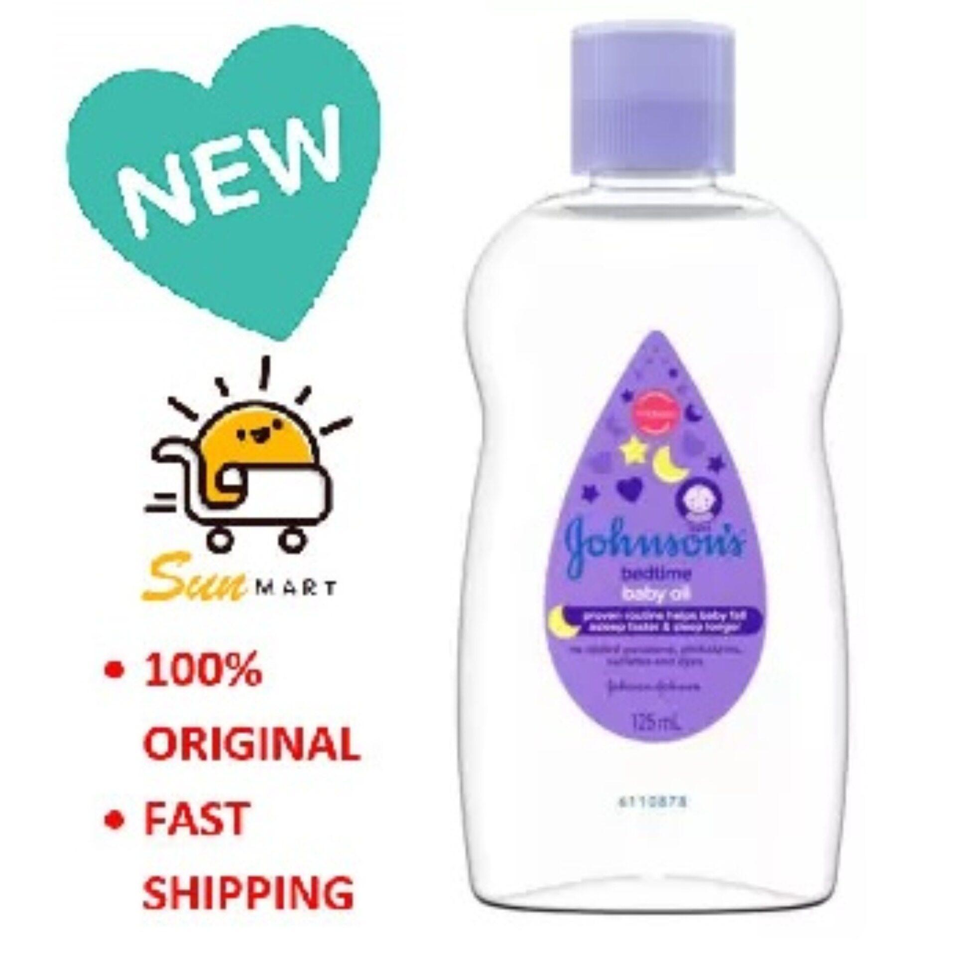 Johnson's Bedtime Baby Oil 125ml