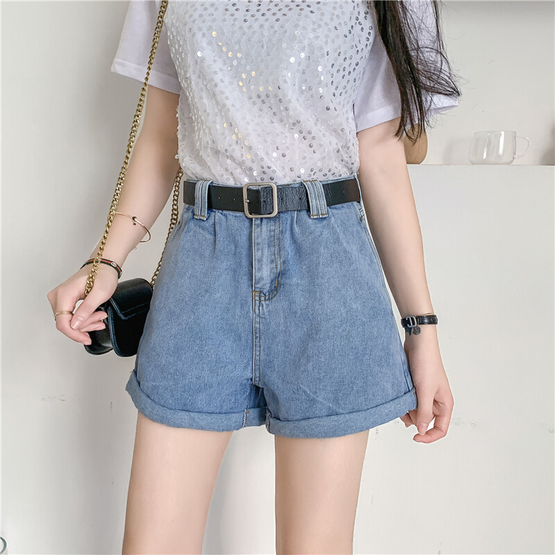 (Pre Order 14 Days)JYSFashionKoreanStyleWomenJeansPantCollectioncol538-1196 blue s