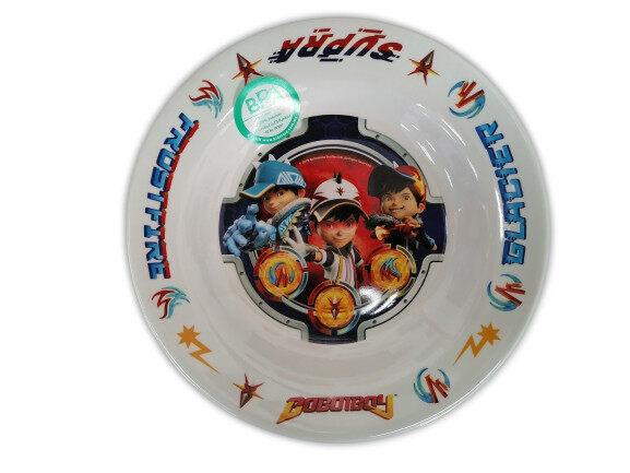 Bobobioy Fusion Destiny Awaits Kid\'s Party Deep Plate 8 (BPA-Free)